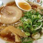 餃子の王将 - 超人気コンビ(ラーメン・焼き飯・餃子・漬物)924円
