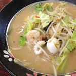 餃子の王将 - お昼のマル特ちゃんぽん472円
