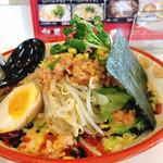 ラーメン神蔵 - 料理写真:冷製黒胡麻担々麺(夏季限定)
