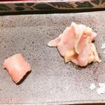 焼鶏 ひらこ - ささみ、胸肉