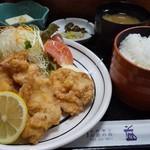 益元 - 唐揚げ定食