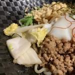 麺 the Tokyo - 白菜漬けが美味しい
