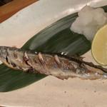 さかだち - 秋刀魚