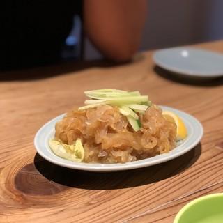 中華料理正一 - 料理写真:クラゲの酢の物