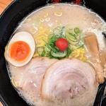 春日井ラーメン楽喜 - 塩とんこつラーメン