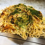 お好み焼 八峯 - 料理写真:肉玉生イカ