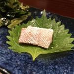 鮨匠 のむら - お刺身 天然しょっこ(かんぱちの子供)