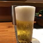 鮨匠 のむら - ひとくちビール