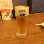 水炊き・焼鳥 とりいちず酒場 - スーパードライ¥199(税抜)