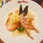 115163966 - 本ずわい蟹と海の幸の冷製カッペリーニ。1,190円