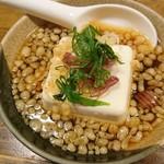 やきとり にしだ屋 - たぬき豆腐