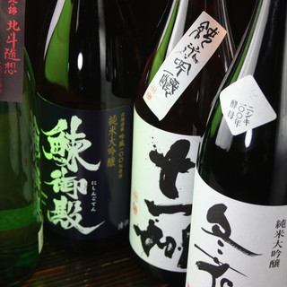 希少な日本酒と圧倒的な鮮度の刺身