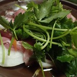 地酒の宿 中村屋 - お鍋 「上州豚柳川鍋」