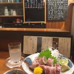 居酒屋 - ヤリイカ湯引き