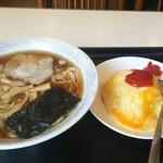 グリル 千里 - 料理写真:ラーメンセット