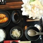 Jingisukankirishima - ちゃんこ鍋定食1,100円