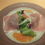 石焼ステーキ 贅 - プレミアムセット 前菜