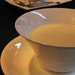 ヴェルデ辻甚 - 本日のスープ(かぶらでした)