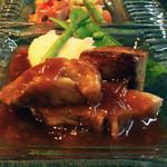 ヴェルデ辻甚 - お肉料理は豚肉のブレゼ
