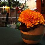 ヴェルデ辻甚 - テーブルのお花