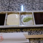 11518764 - ソース、タルタル、塩、醤油