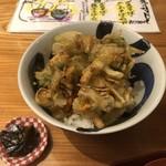 丸一そば屋 - かき揚げ丼¥1,000