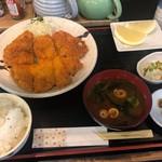 串よし - チキンかつ定食 850円