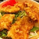 フジヤマ - 鶏天丼