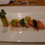 ブラッセリー 「フローラ」 - オマール海老と帆立貝のメダイヨン