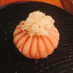 寧楽菓子司 中西与三郎 - 季節の上生菓子【菊花】