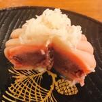 寧楽菓子司 中西与三郎 - 菊花断面