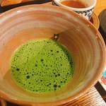 寧楽菓子司 中西与三郎 - お抹茶