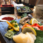 赤垣 - 貝刺盛り