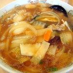 八起 - 炒飯と広東麺のセットの広東麺です、一人前あります