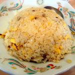 八起 - 炒飯と広東麺のセットの炒飯です、こちらも一人前あります