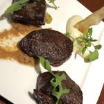 RRR otemachi Kobebeef&Wine - 熟成黒毛和牛3種盛り合わせ