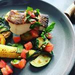 ビストロ カリーノ - 青そいと夏野菜のグリル