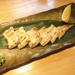 石臼挽き手打 蕎楽亭 - 穴子の白焼き 1580円