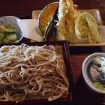 たつみ屋 - 料理写真:天ざる蕎麦