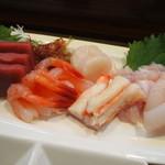 寿司のまつくら - 刺身盛り合わせ