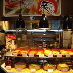 グリーンズケー 鉄板ビュッフェ - 天ぷら&串かつコーナー