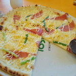 11521960 - 白ミモザのピザ