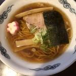 麺屋 史 - 中華そば(600円)