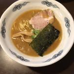 麺屋 史 - らーめん(600円)