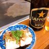 やまちゃん - 料理写真:冷奴と瓶ビール