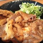 韓丼 - カルビ丼ミニ 380円