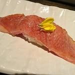 115213607 - 霜降り炙り寿司