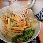 讃岐うどん薫 - 麺と出汁は温か冷かを選べます