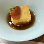お料理やまもと - 玉子豆腐