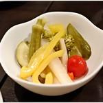レガロ - 季節野菜のピクルス 500円